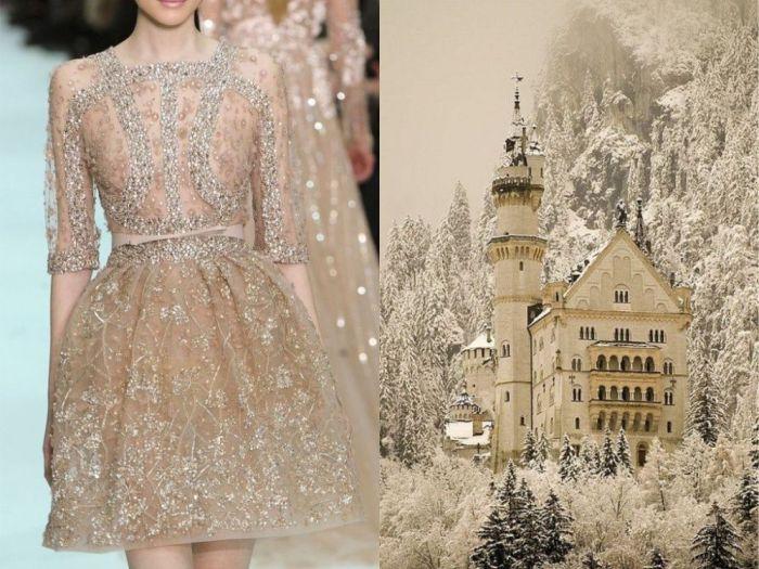 Сказочное платье Волшебная зима в проекте Fashion & Nature.
