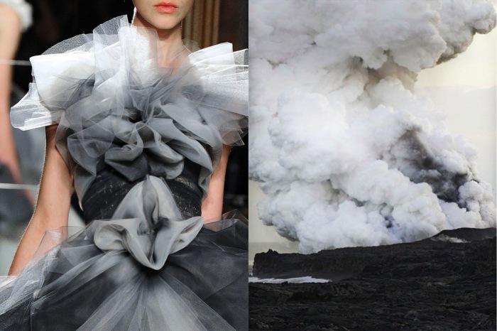 Невероятное платье Дым в проекте Fashion & Nature.