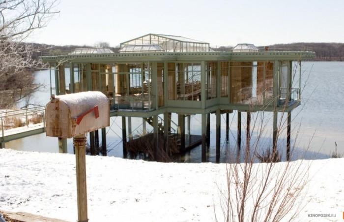 Дом, в котором обменивались письмами герои фильма «Дом у озера».