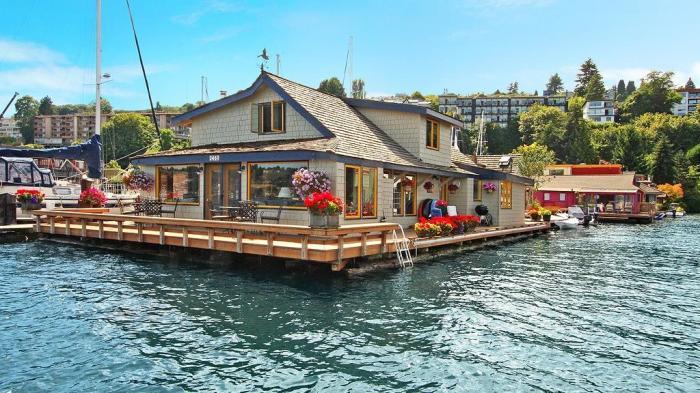Дом Сэма из фильма «Неспящие в Сиэтле».