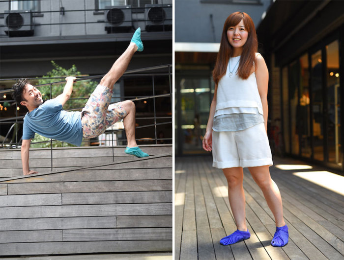 Разработчики уверяют, что «Furoshiki shoes» - невероятно удобные кроссовки, о приобретении которых никто не пожалеет.