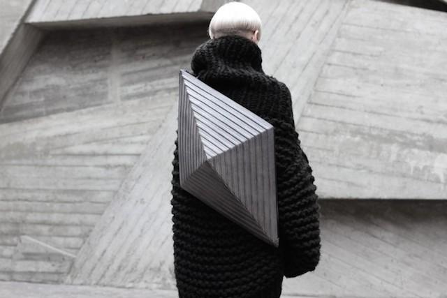 Футуристичные сумки от киевского дизайнера