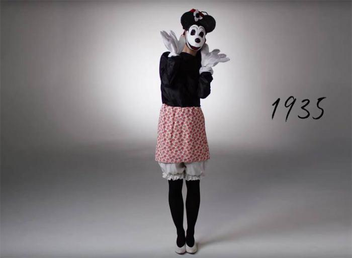 В костюм подружки Микки-Мауса наряжались в тридцатые годы ХХ века.