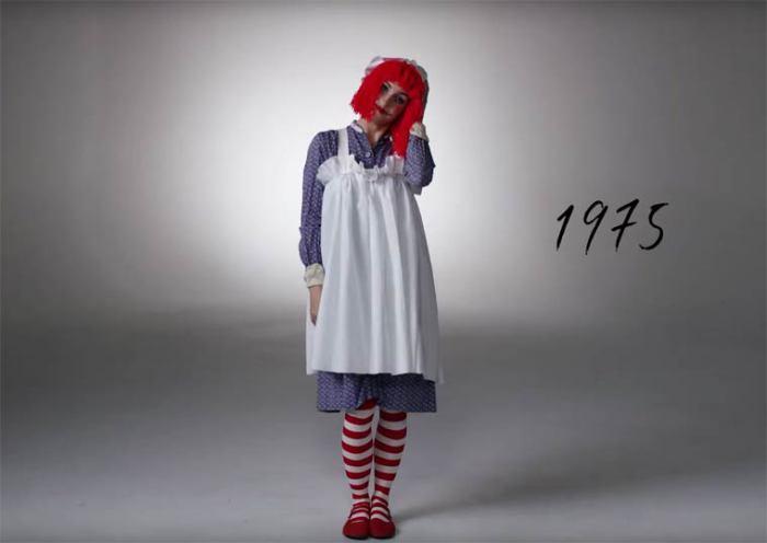В семидесятые годы ХХ века наряды больше смешили, чем пугали.