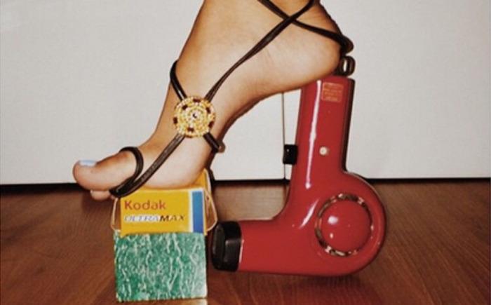 Обувь из приложения Instagram.