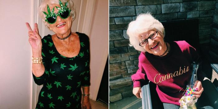 80-летняя модель поражает своей жизнерадостностью.