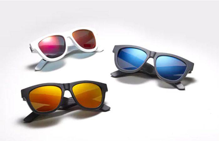 Музыкальные очки «Zungle» будут доступны в нескольких цветовых вариантах.