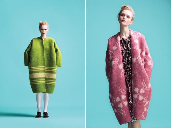 Marit Ilison (Марит Илисон) - дизайнер из Эстонии, которая удивила общественность необычной коллекцией верхней одежды из обычных советских одеял.