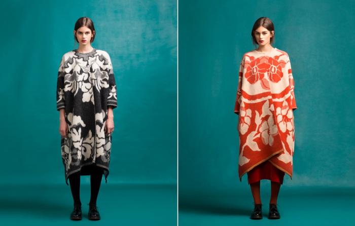 Коллекция верхней одежды из шерстяных советских одеял от модного эстонского дизайнера Marit Ilison (Марит Илисон).