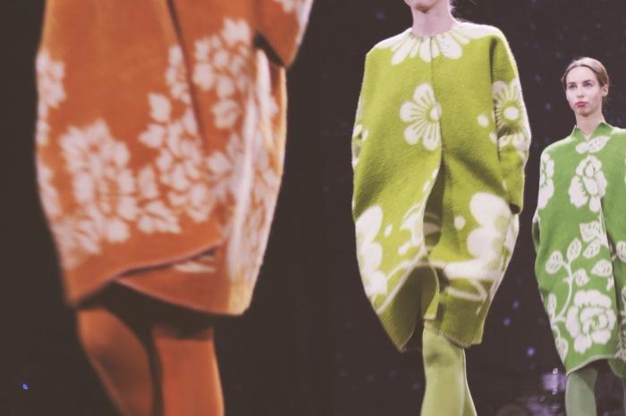 Стильные и оригинальные пальто из старых советских одеял от прибалтийского дизайнера Marit Ilison (Марит Илисон).
