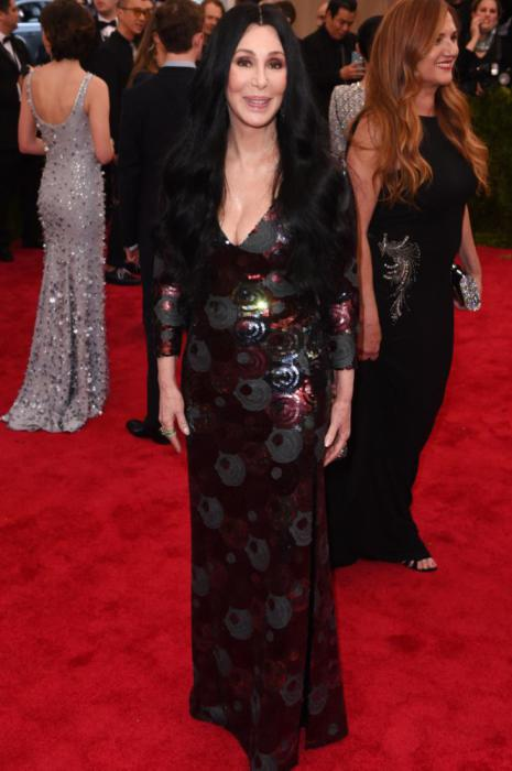 Cher in Marc Jacobs.