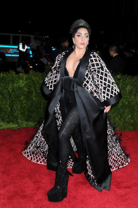 Lady Gaga in Balenciaga.