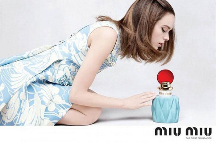 «Eau de Parfum» - новая парфюмированная вода от модного дома Miu Miu.