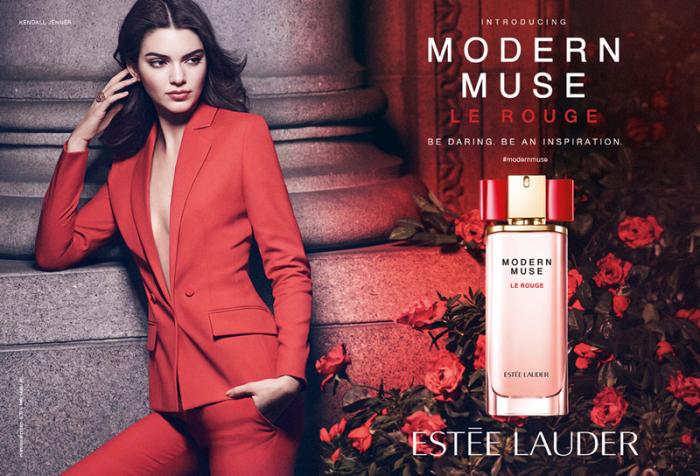 «Modern Muse Le Rouge» - новый цветочный аромат от Este Lauder.
