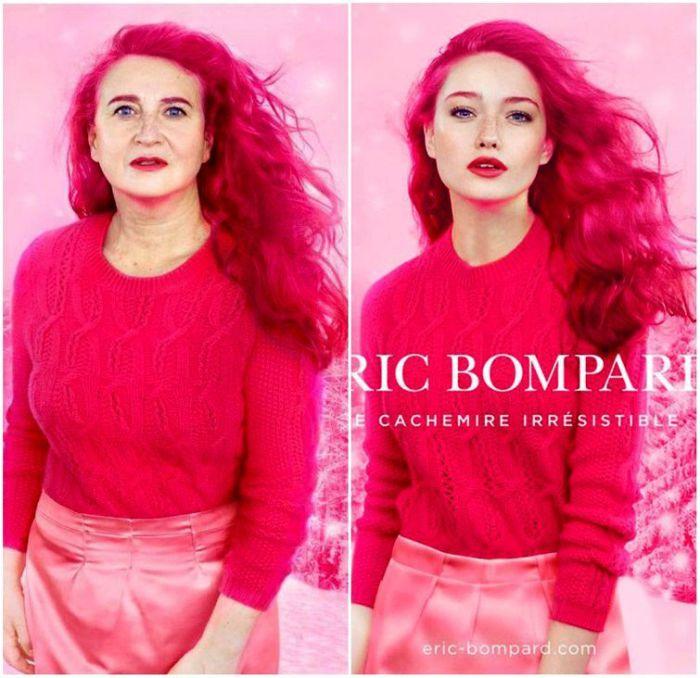Пародия на рекламу  бренда Eric Bompard от Натали Крокет.