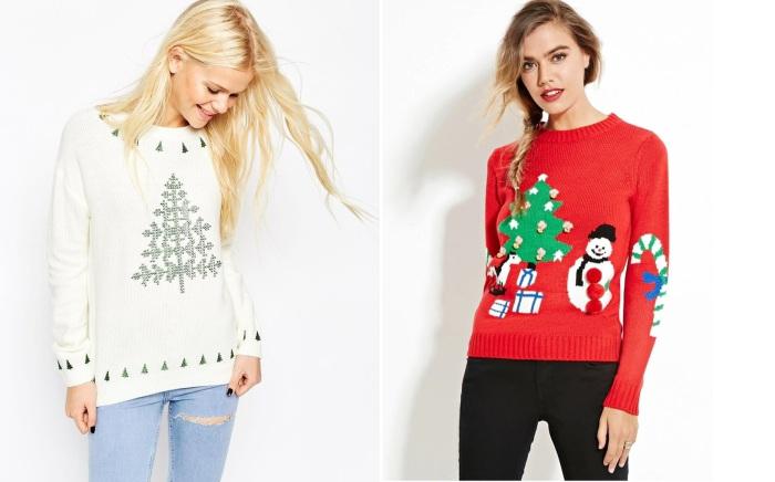 Кофты с новогодней тематикой - это не просто теплая, уютная вещь. Такой свитер поднимает настроение и дарит чувство приближения Нового года.