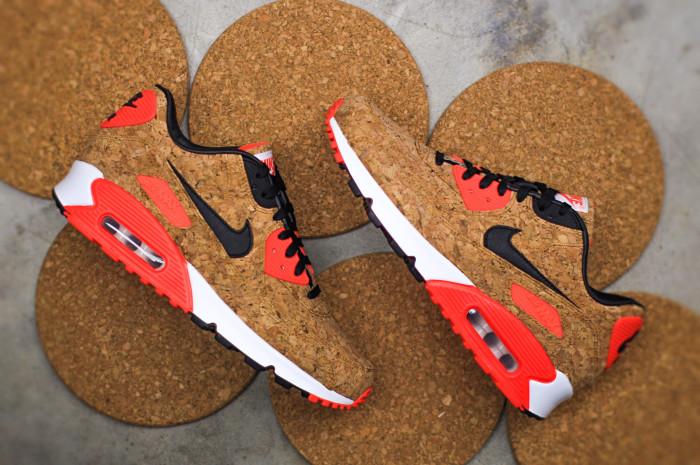 Пробковые кроссовки Nike Air Max 90.