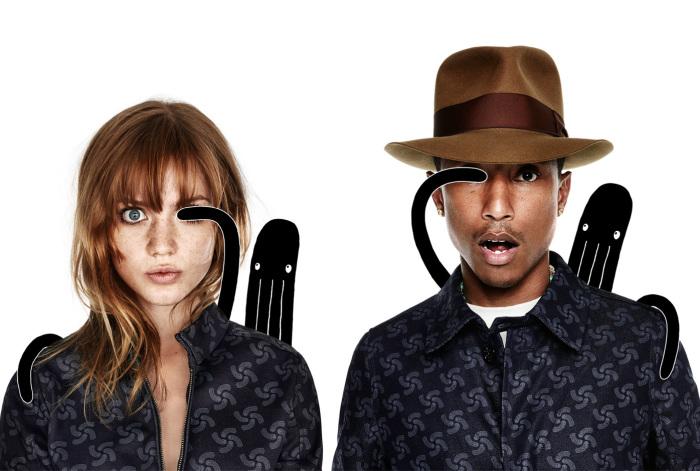 Знаменитый певец Фаррелл Уильямс (Pharrell Williams) заботится об экологии нашей планеты и создает дизайнерскую одежду из вторсырья.