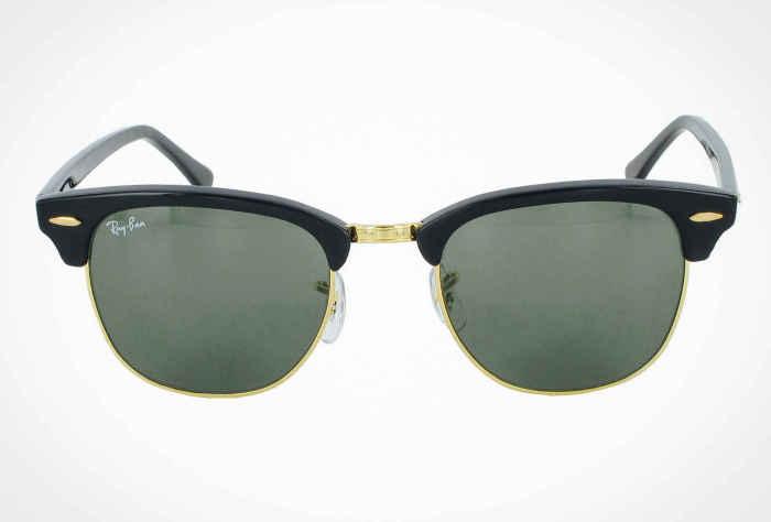 Солнцезащитные очки Ray-Ban Clubmaster, стоимость которых - 150 долларов.