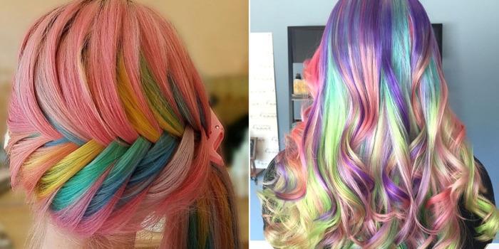 «Sand Art Hair» - интересный вид колорирования, который напоминает бутылочки с разноцветным песком.