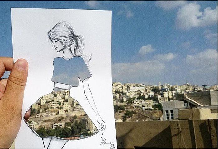 Бумажная одежда от дизайнера из Иордании - новый способ освоения модной индустрии.