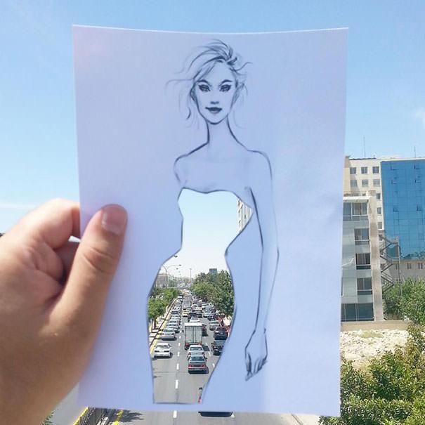 Многие дизайнеры поддерживают идею Шамеха Блуви (Shamekh Bluwi) и считают его эскизы настоящим прорывом в fashion-индустрии.