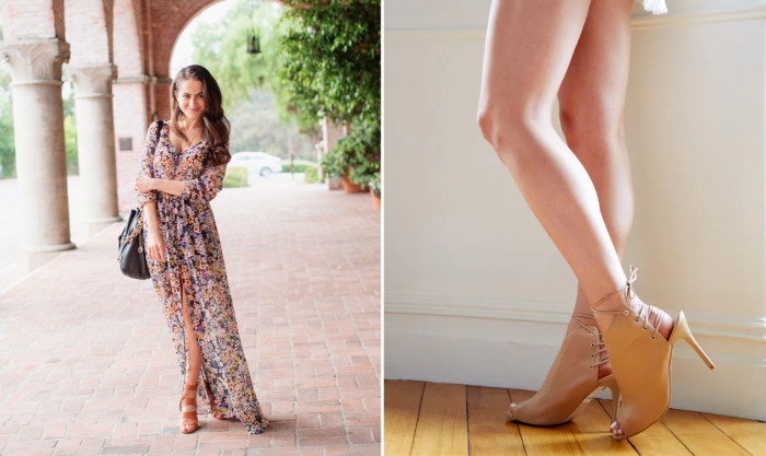 Как сделать ноги визуально более длинными с помощью правильно подобранной обуви и одежды.