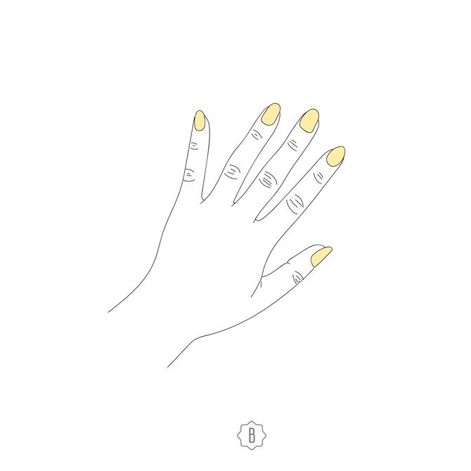 Желтые ногти сигнализируют об авитаминозе или наличии в организме грибковой инфекции.