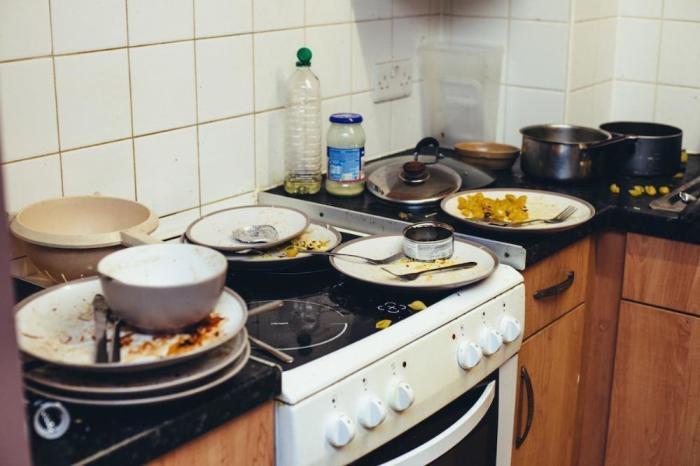 Кухня холостяка-англичанина.