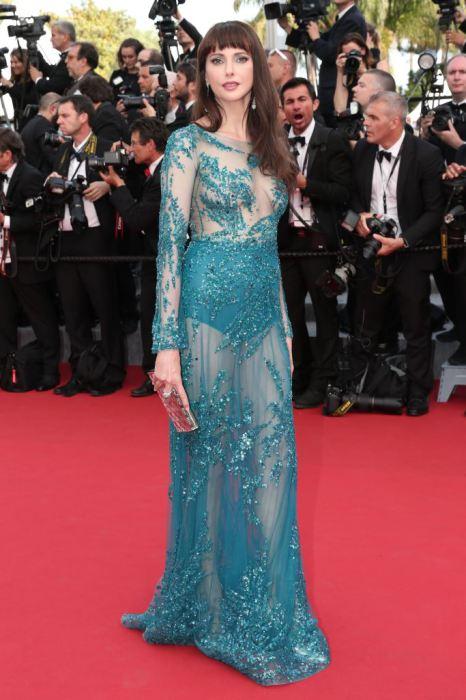 Прозрачное платье французской актрисы Фредерик Бель названо самым худшим нарядом с красной дорожки 68-го Международного Каннского кинофестиваля.
