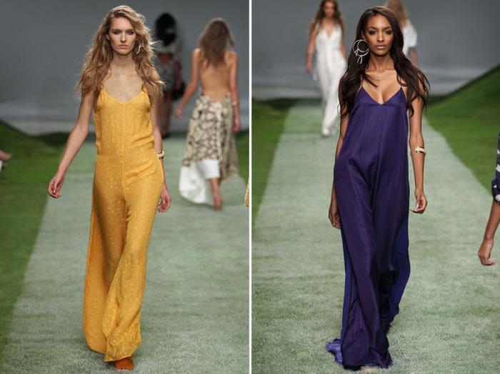 Уникальные платья-комбинации из коллекции премиальной линии Topshop Unique.