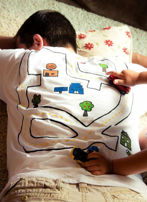Игровая футболка Play Mat.