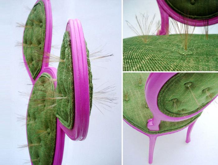 У стульев такие же колючки, как у настоящих кактусов