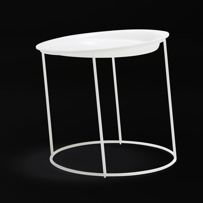 Кажется, что эти столы совершенно противоречат законам гравитации.