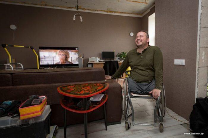 Вячеслав Минчанин все еще продолжает строительство и мечтает о террасе.