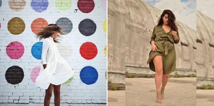Платья, которые будут отлично смотреться на девушках любой комплекции.