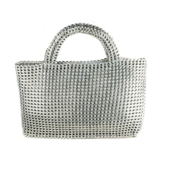 Алюминиевые сумки от Escama Studio.