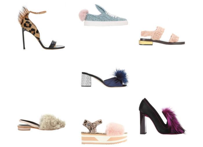Обувь с мехом - новый модный тренд осеннего сезона-2015.