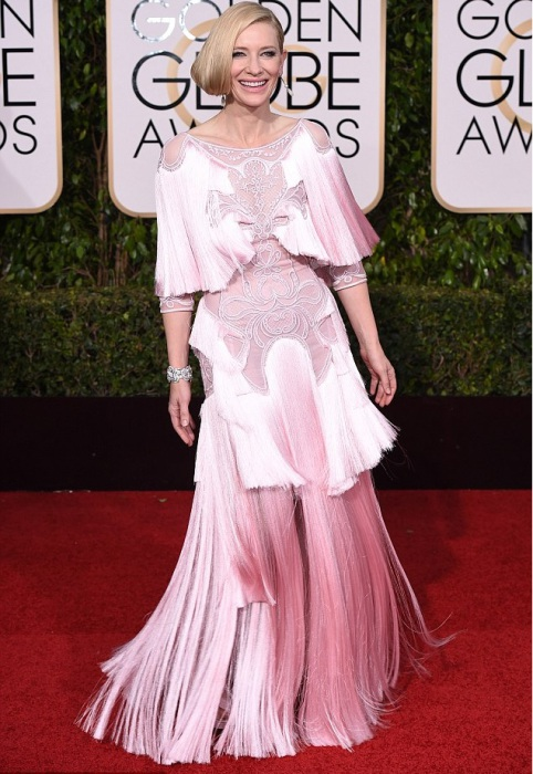 Известная актриса Кейт Бланшетт (Cate Blanchett) в платье от французского модного дома «Givenchy».