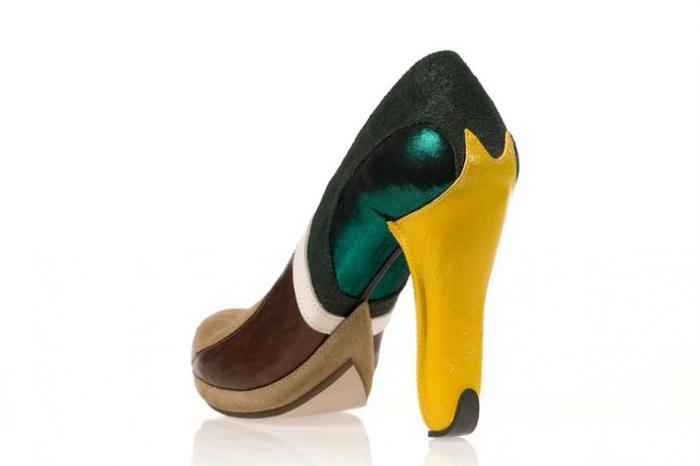 Туфли-утки-мандаринки.