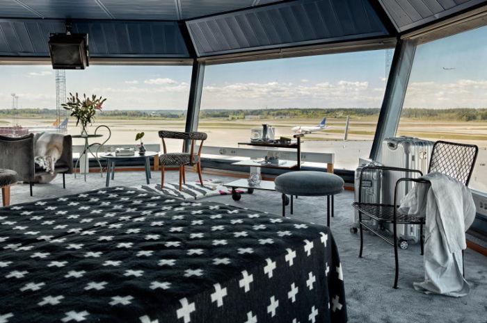 В апартаментах аэропорта Арланда, который расположен неподалеку от столицы Швеции, можно расслабиться и отдохнуть.