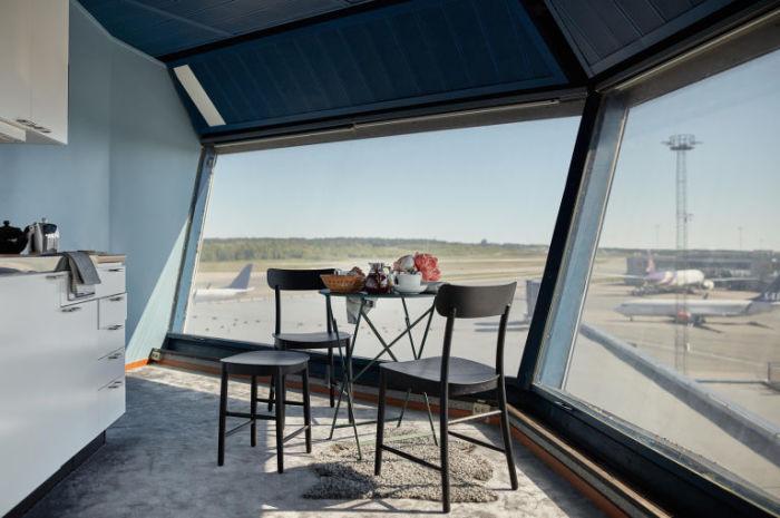 Апартаменты с кухней в аэропорту Арланда, который находится в 42 километрах от столицы Швеции.
