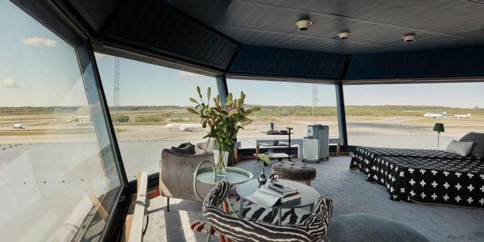 Полеты во сне и наяву - непревзойденная квартира в воздушной башне стокгольмского аэропорта Арланда.
