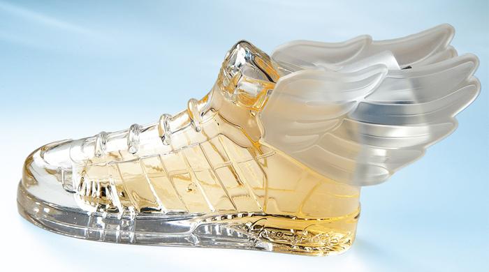 Новинка для Adidas от Jeremy Scott - аромат, принесенный на крыльях Гермеса