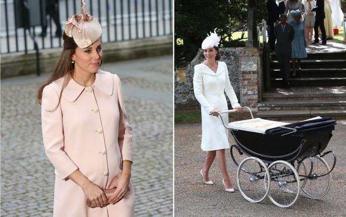 Самые лучшие наряды Герцогини Кембриджской, в которых она появлялась на публике в уходящем 2015 году.