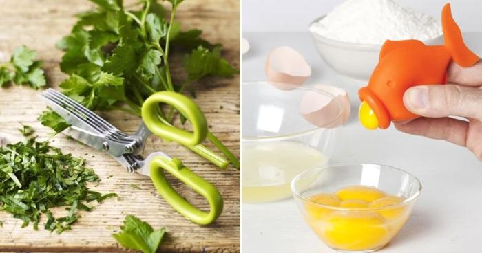 Несколько занятных кухонных приборов, которые заметно упростят процесс приготовления пищи.
