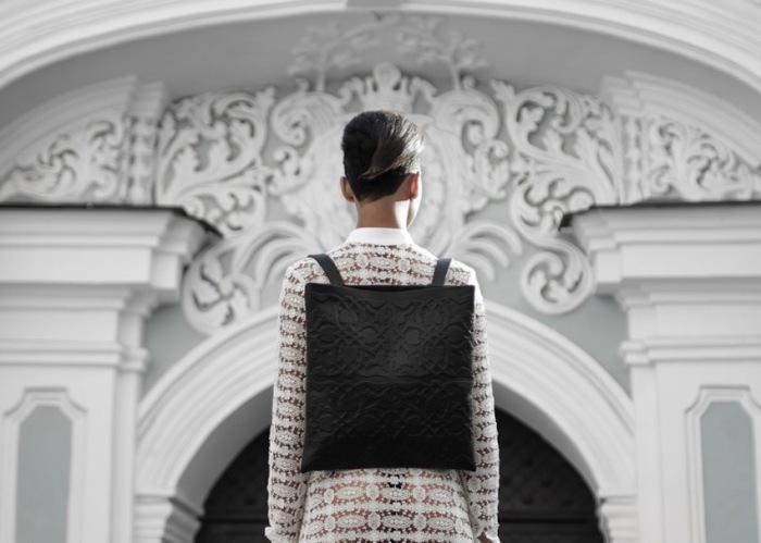 Изумительный кожаный рюкзак от талантливого киевского дизайнера.
