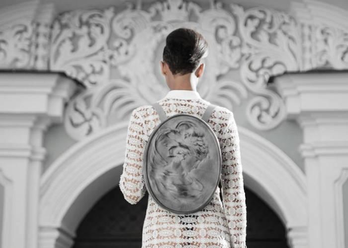 Рюкзак из коллекции под названием Arxi от молодого дизайнера из Украины.