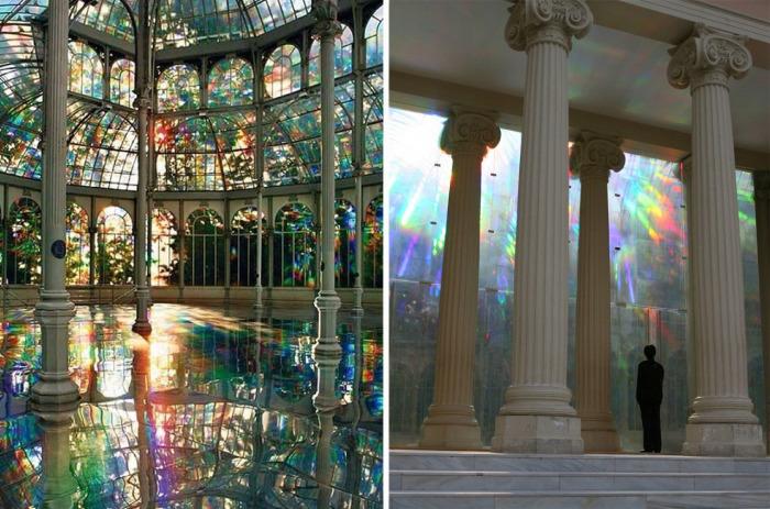 Комната радуги, которая находится в Хрустальном дворце, расположенном в мадридском парке Буэн-Ретиро (Испания).