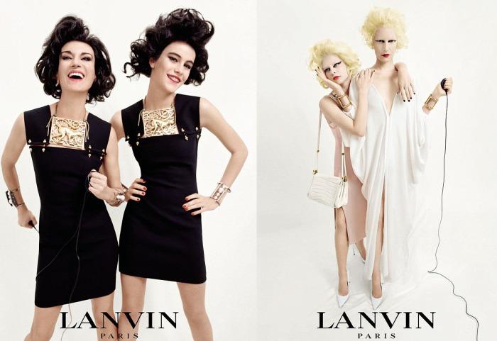 Семейные ценности в рекламной кампании LANVIN